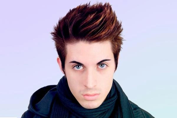 Men's Hairstyle Ideas Spiky Hair 2013